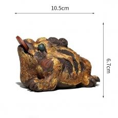 Чайная Жаба из нескольких сортов глины  蟾蜍