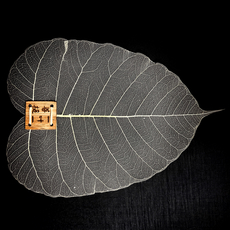 Чайное ситичко в виде листа дерева бодхи