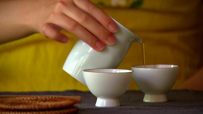 Как собирают чай в Китае